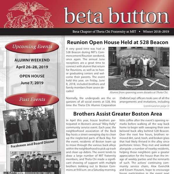 Beta Chapter of Theta Chi Alumni Corporation